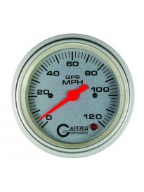 "3 3/8"" GPS Analog Speedo Head Platinum"