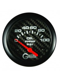 "2 5/8"" Electric Oil Pressure 0-100PSI Ca"