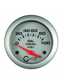 "2 5/8"" Electric Oil Pressure 0-100PSI Pl"