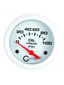 "2 5/8"" Electric Oil Pressure 0-100PSI Wh"