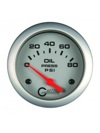 "2 5/8"" Electric Oil Pressure 0-80PSI Pla"