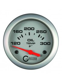 "2 5/8"" Electric Oil Temp 120-300F Platin"
