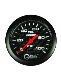 "2 5/8"" Mechanical Oil Pressure 0-100PSI"