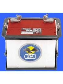Battery Box, Stainless Marine 24